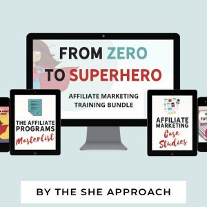 From Zero to Superhero Affiliate Marketing Bundle