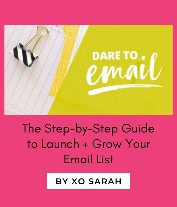 dare to email course