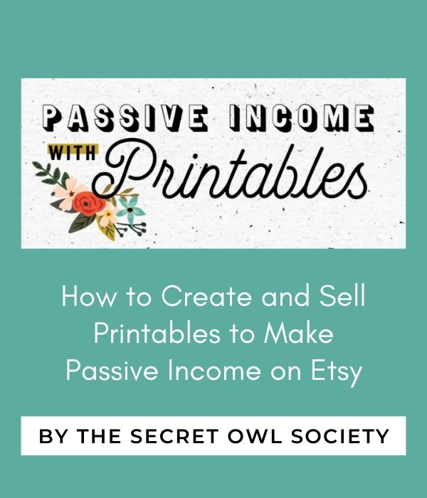 passive income with printables