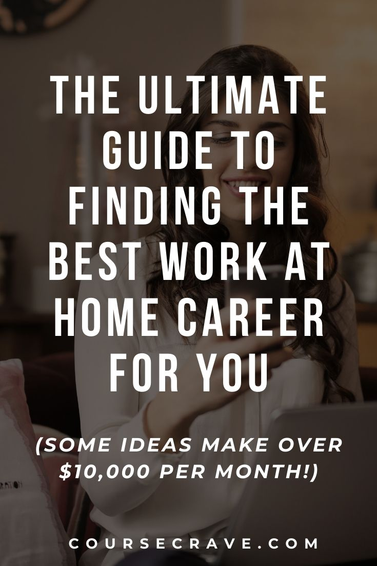 best work at home career