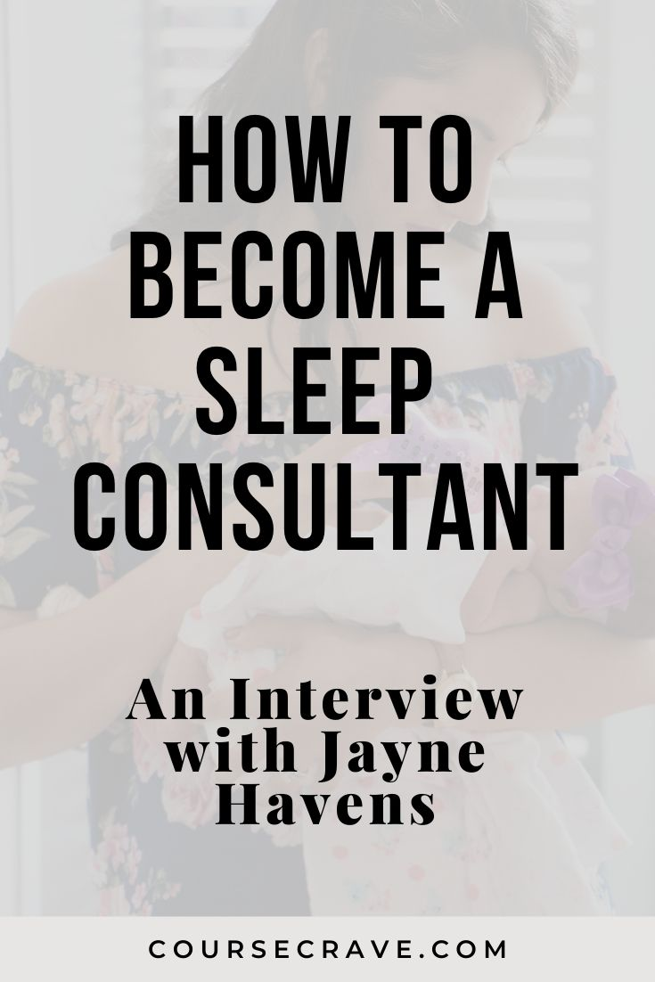 how to become a sleep consultant